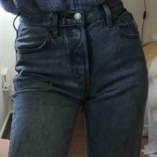 Levis jeans 501or, högmidjade