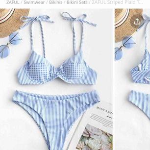 Helt nya oanvända, med taggar och påse. 100kr per bikini.