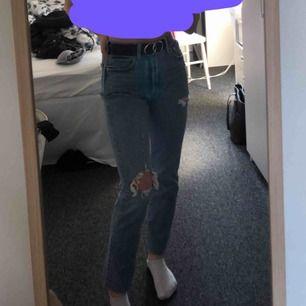 Supersnygga 501 Levis jeans med slitningar! Frakt tillkommer 💕