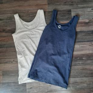 Två st linnen, beige och mörkblått. Köpta från Cubus. Säljer pga använder inte. 20kr styck eller 30kr för båda.
