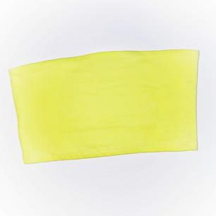 Neongul tubtopp, aldrig använd. Frakt tillkommer på 9 kr ❤