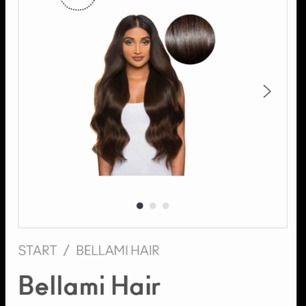 Ny lyx hårförlängning från Bellami! Det bästa och tjockaste håret på marknaden. Otroligt vackert mörkbrunt friskt och glansigt hår! Jag säljer alltså detta hår sjukt billigt! 😘