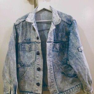 Vintage jeansjacka. Hur snygg som helst!