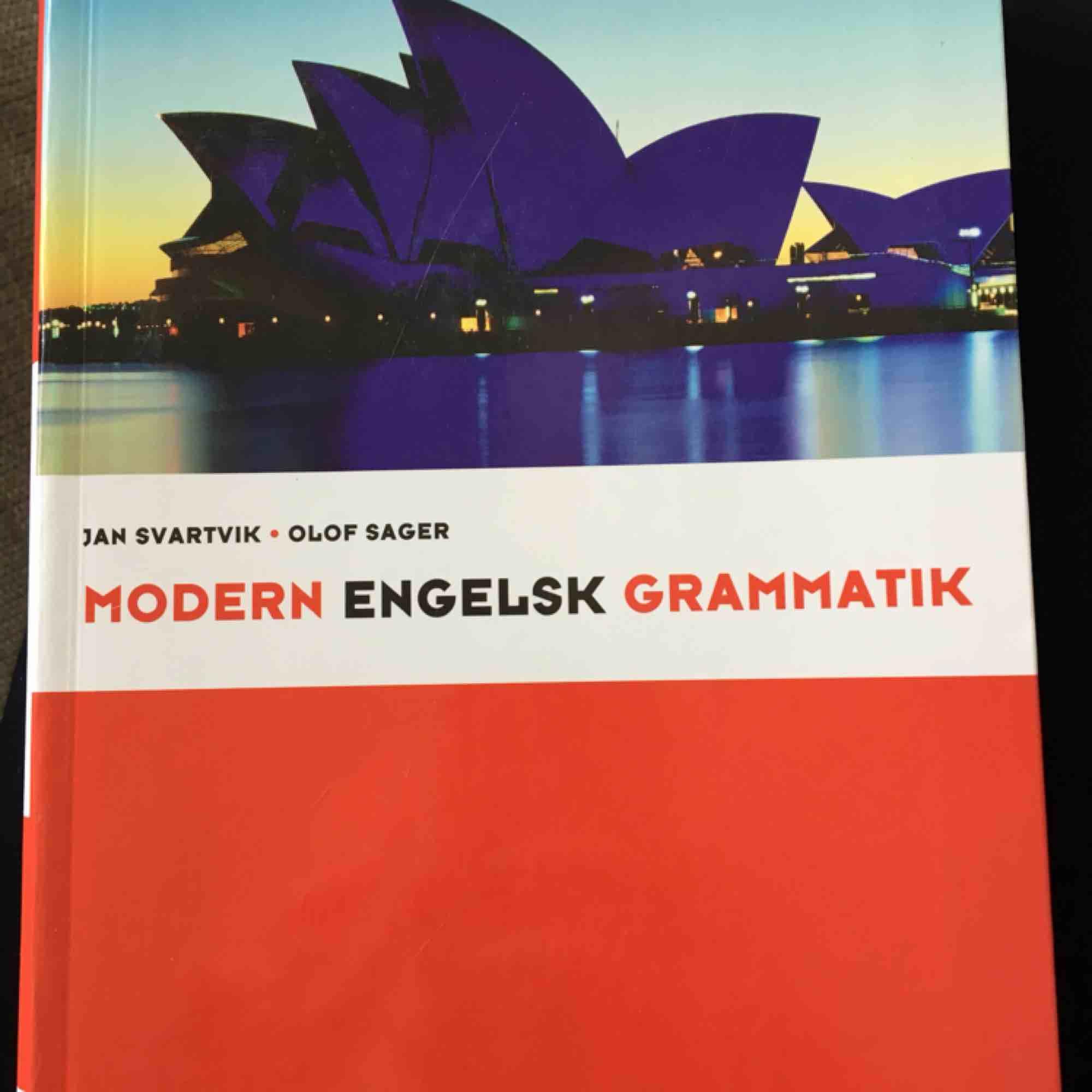 Engelska grammatikbok . Övrigt.