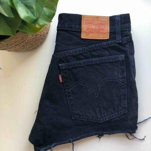 Säljer ett par Levi's short då de är för små för mig. Hittar ej storleken men jag skulle säga att de sitter som XS/36. Shortsen är i bra skick då de är använda max 10 gånger. Ny pris är 500kr. Köparen står för frakten!