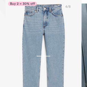 Jeans från monki i mom modell