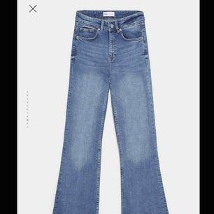 Cropped/kick flare jeans från Zara💕💕💫