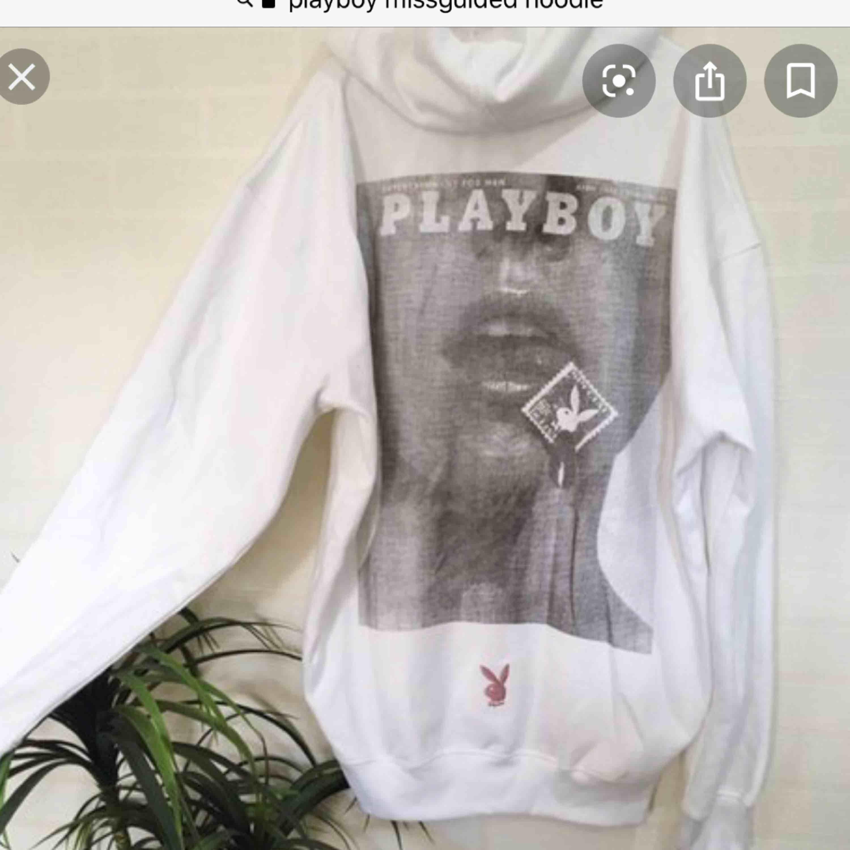 Oversize! Playboy x Missguided hoddie. Huvtröjor & Träningströjor.