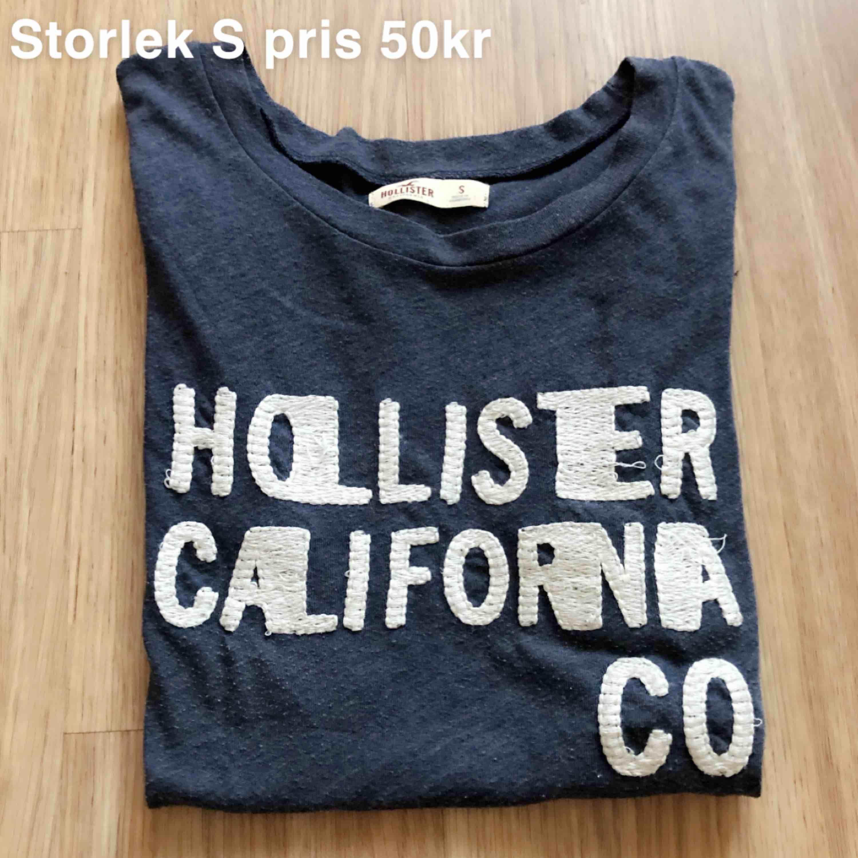 T-shirt från Hollister, storlek S, 50kr. Toppar.
