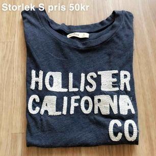 T-shirt från Hollister, storlek S, 50kr