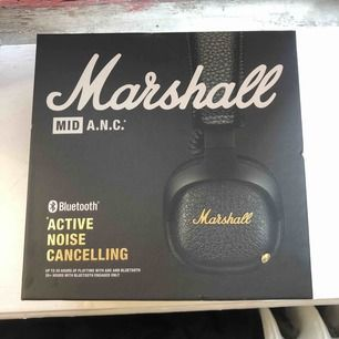 Marshall MID Active noise cancelling Obruten förpackning  Nypris ca 1700