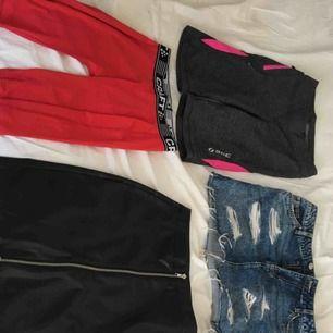 Blandade kläder i strl XS/S. Märken bland annat NAKD, Wera, NLY trend, Soc, Nike.  Allt för 500 kr.