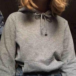 Grå hoodie Frakt på 36 kr  (köparen står alltid för frakten på mina saker)