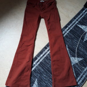 Gina Tricot Burnt red/orange bootcut jeans size 36