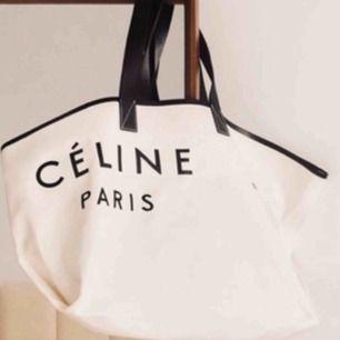 Celine canvas bag i gott skick Endast seriösa köpare Tack