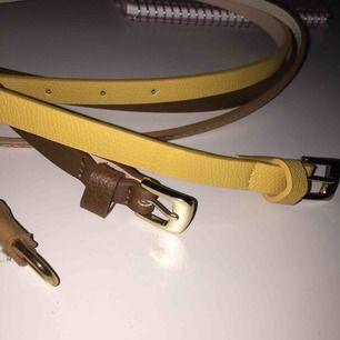♡ Skärp från H&M ♡ 19:- bara det gula kvar!