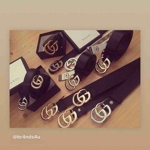 Gucci skärp i imationsläder 299 kr  Äkta läder med box 499 kr  FRI FRAKT VID BESTÄLLNING INNAN TISDAG!!