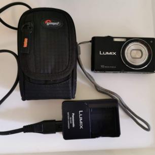 Lumix kamera, lite använd.