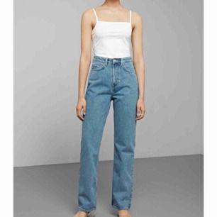 Säljer ett par jeans från Weekday i modellen row, storlek 24/30, då de ej kommer till användning. Kan mötas upp eller frakta 🦋 frakt: 70kr