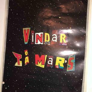 skitsnygg affisch av hov1 från när de släppte sitt album vindar på mars. säljer pga har 2 st. möts i sthlm