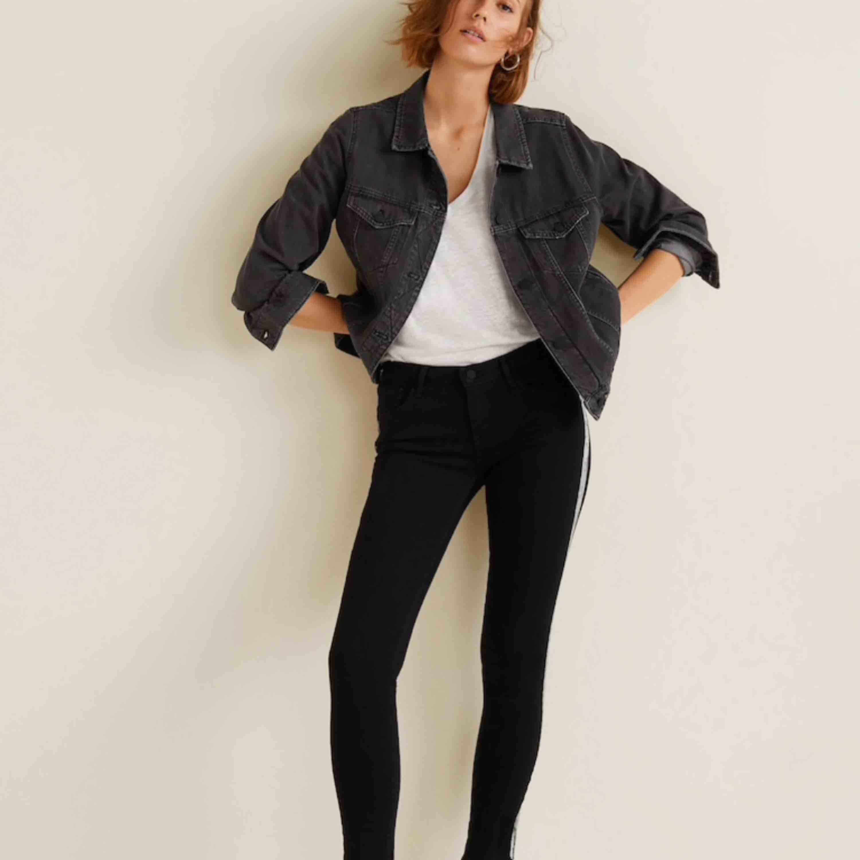 Svarta jeans Kim skinny push-up jeans Push-up design. Skinny fit. . Jeans & Byxor.