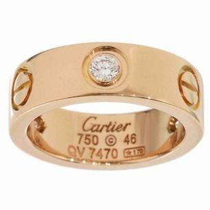 Cartier Ring i roséguld. Storlek 16, passar tjejer. Mer bilder kan skickas.  I köpt för 2000kr.