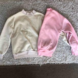 Sköna tröja beige och rosa båda för 80 eller en för 50.