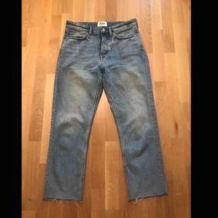 Jeans från zara i gott skick! Säljer pga att de ej passar. Inte använda många gånger!