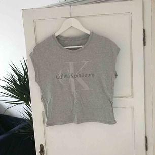 En grå T-shirt, storlek S. Aldrig använd