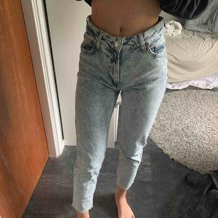 Säljer mina jeans som jag köpte för ca 1 månad sen. Dom är aldrig använda o är för stora i midjan på mig. Dom är i toppskick och säljer dom för 100kr💗💗
