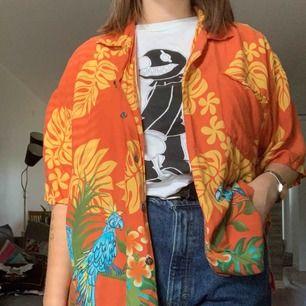 Hawaii skjorta, Snyggt oversized, 🦜Frakt: 59 kr🦜