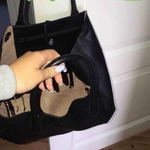 En rymlig fin väska ifrån hm