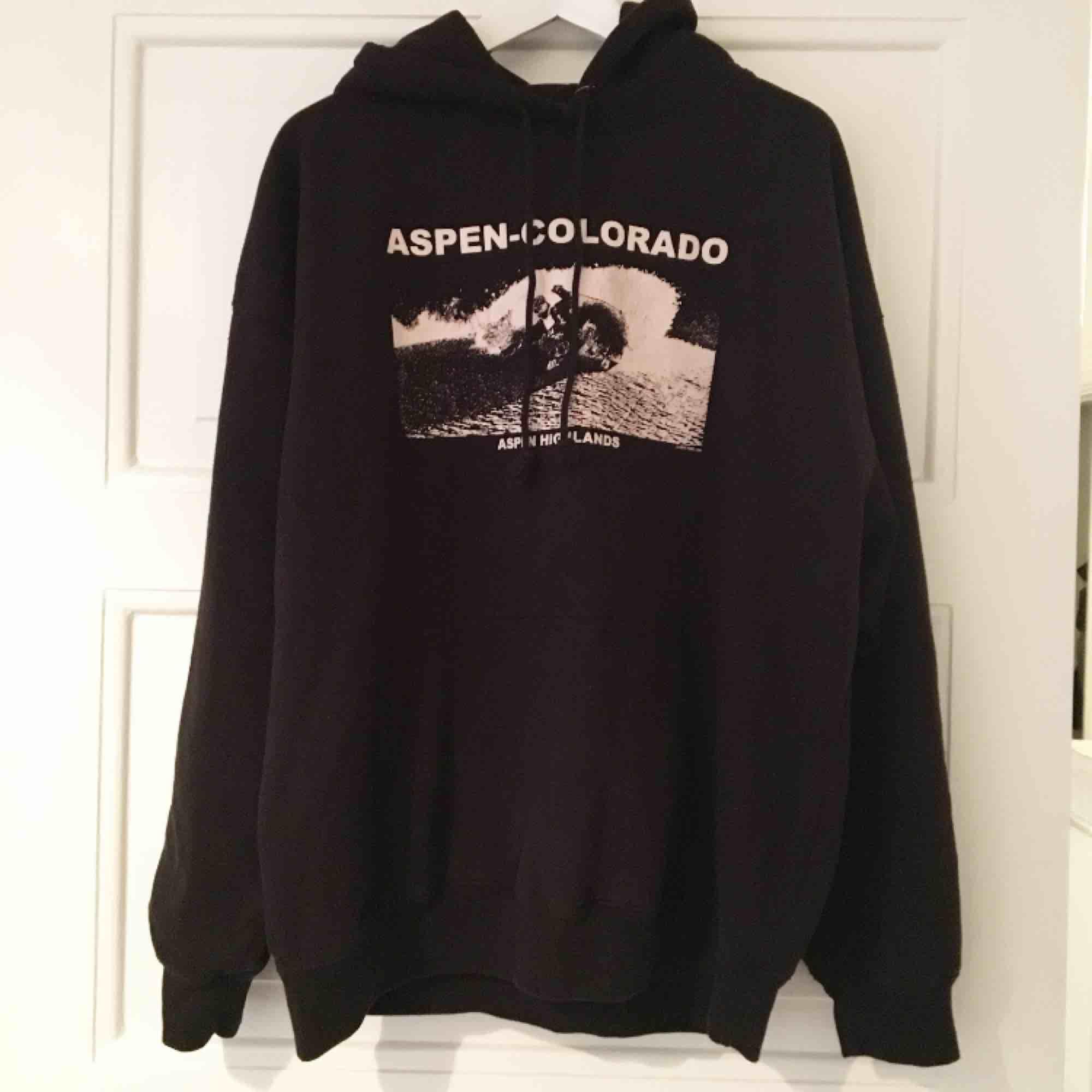 Supersnygg hoodie från Brandy Melville i nyskick från USA - aldrig använd! Lite oversize och väldigt mysig insida 😍 Möts upp i Stockholm annars står köparen för frakten! . Huvtröjor & Träningströjor.