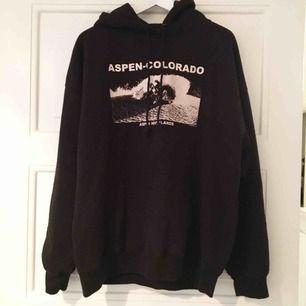 Supersnygg hoodie från Brandy Melville i nyskick från USA - aldrig använd! Lite oversize och väldigt mysig insida 😍 Möts upp i Stockholm annars står köparen för frakten!