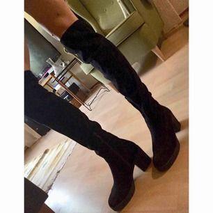 Knee high boots från din sko. Sparsamt använda.