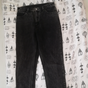 Straight black jeans from Monki !!