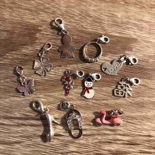 Silver 925 berlocker från guldfynd 50kr/styck eller alla för 300 kr  Kan fraktas!!!