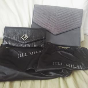 Säljer två helt oanvända väskor från Jill Milan, kostar runt 4000/5000 kr styck.