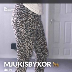 Leopard mjukisbyxor, sköna och bekväma ha på sig. Märket Lindex, S-M  Vill ha? Skriv!!!🤩