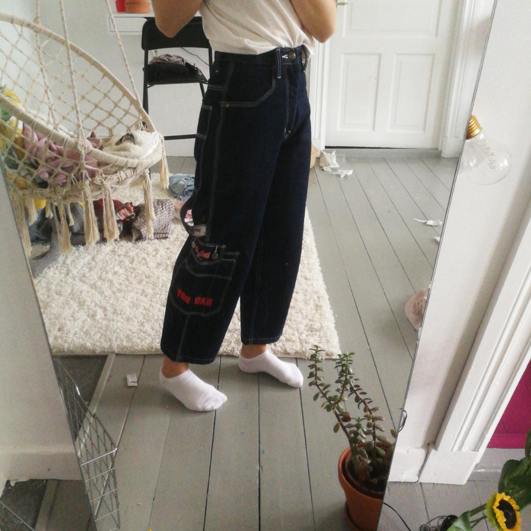 Ett par skit coola byxor från Bad Boy, är aldrig använda för att dem är lite för coola för min stil men är jätte fina😍. Jeans & Byxor.