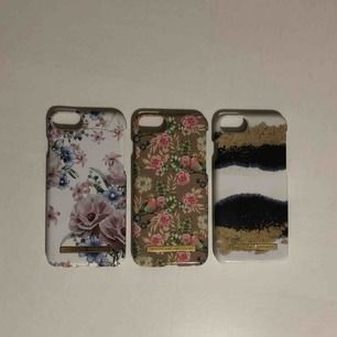 Säljer 3 stycken ideal of sweden skal. Passa iPhone 6, 6s, 7 och 8. 2 av skalen är helt oanvända och ett är lite använt men ändå felfritt och ser ut som nytt!  Ett skal kostar 150kr men man kan köpa alla 3 för 300!