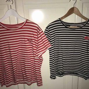 Två randiga T-shirts från Nakd i storlek S! 50kr/styck - köparen står för frakten ☺️