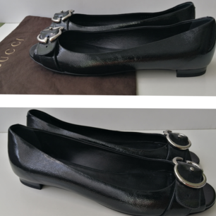 Gucci women ballerinas, new, dustbag, authentic, size 40/ insole 26.5cm, write me for more info