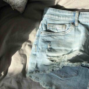 Ljusblå jeansshorts 💞