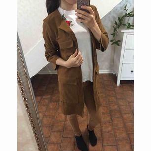 New!!!  Colour: Brown  Long autumn jacket