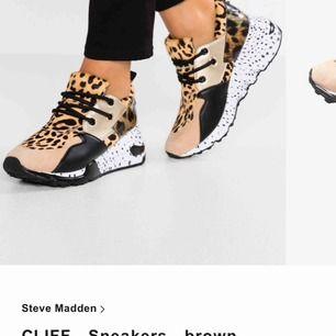 Knappt använd chunky-sneakers fr Steve Madden. Strl 38. Nypris 1299:- Kartongen finns kvar!