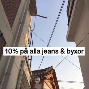 hej hej, kör 10% på alla jeans, byxor och shorts🦋