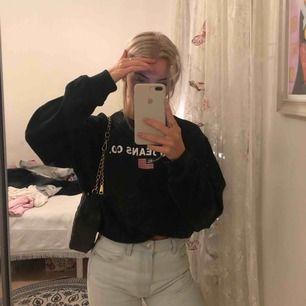 Svart Polo Ralph Lauren sweatshirt med logga Nyskick Nypris 1500kr Storlek xs