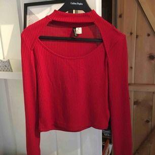 En croppad tröja från hm. Frakten står du som köper för, priset kan alltid diskuteras!