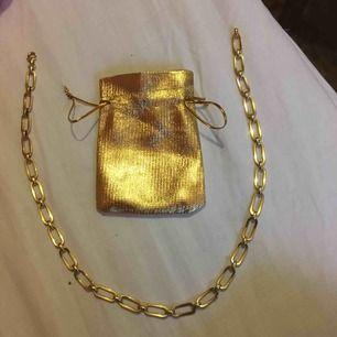 Halsband av guld